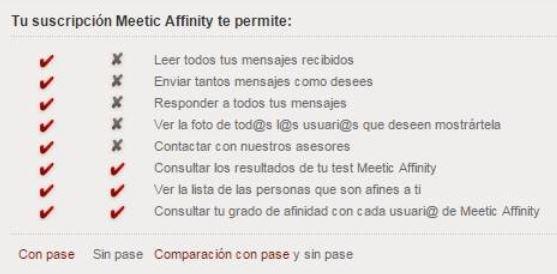 meetic o meetic afinity gratis